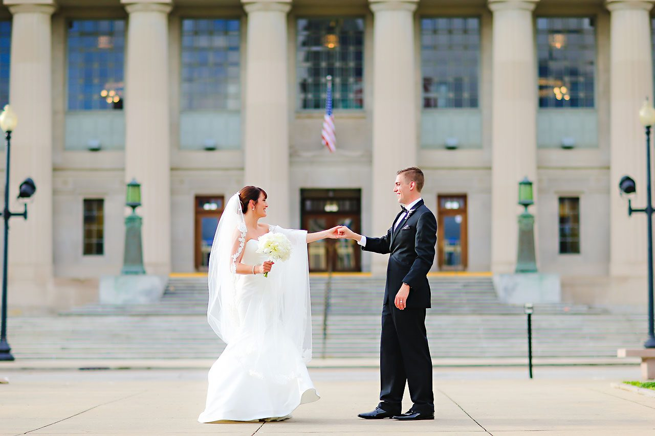 Christine Ryan Indianapolis Central Library Wedding 204