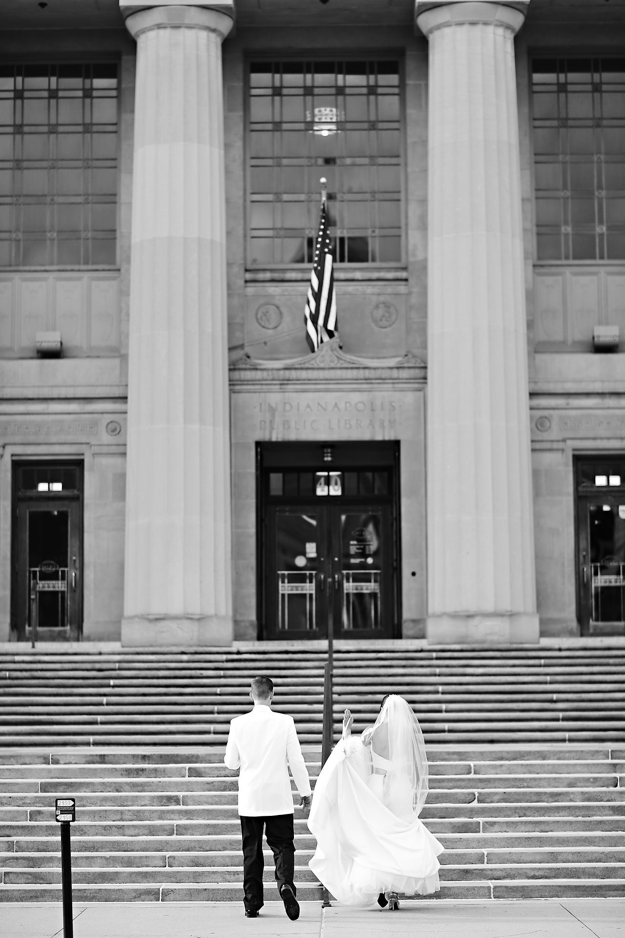 Christine Ryan Indianapolis Central Library Wedding 233