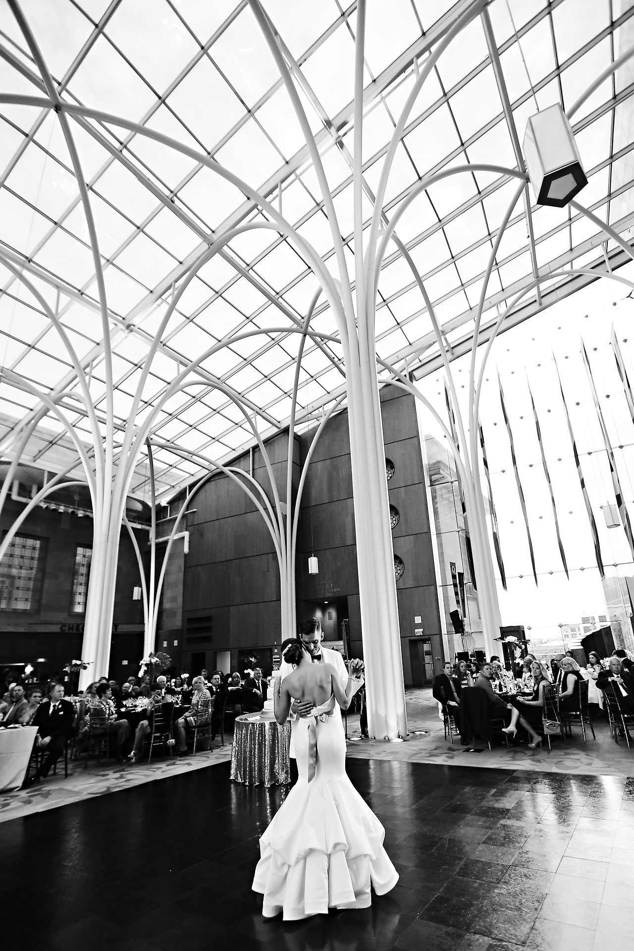 Christine Ryan Indianapolis Central Library Wedding 298