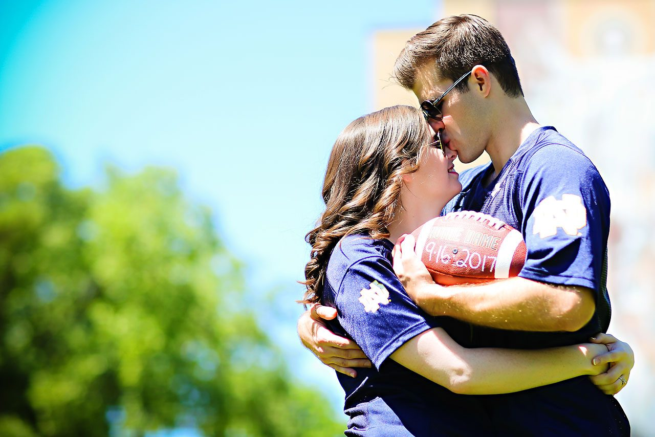 Jessie Chris Notre Dame Engagement Session 016