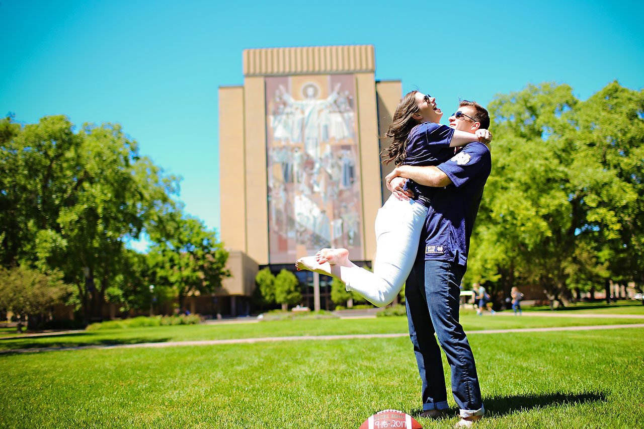 Jessie Chris Notre Dame Engagement Session 017