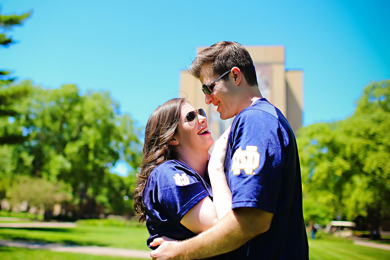 Jessie Chris Notre Dame Engagement Session 018