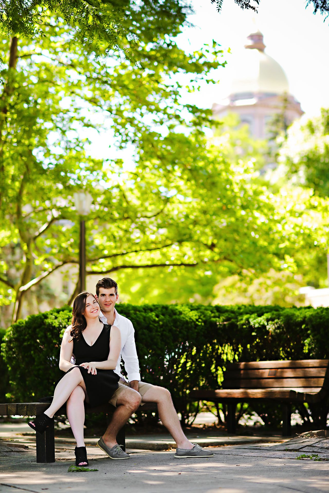 Jessie Chris Notre Dame Engagement Session 022