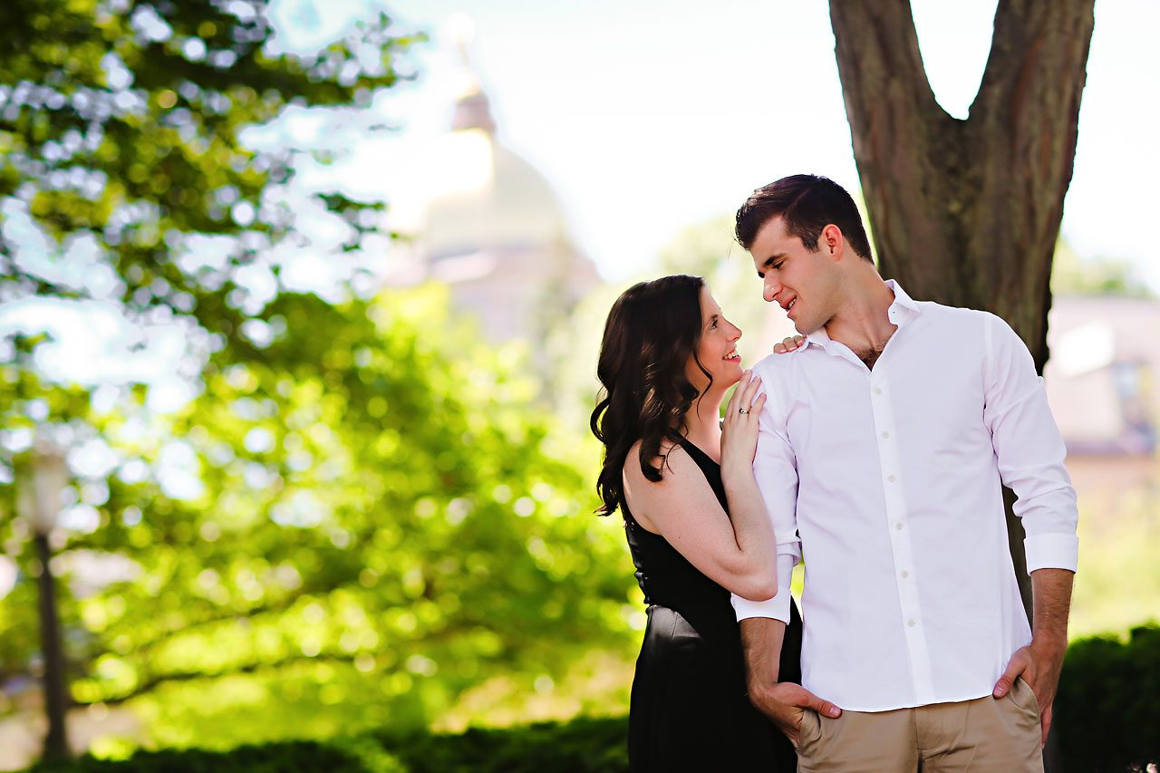 Jessie Chris Notre Dame Engagement Session 028