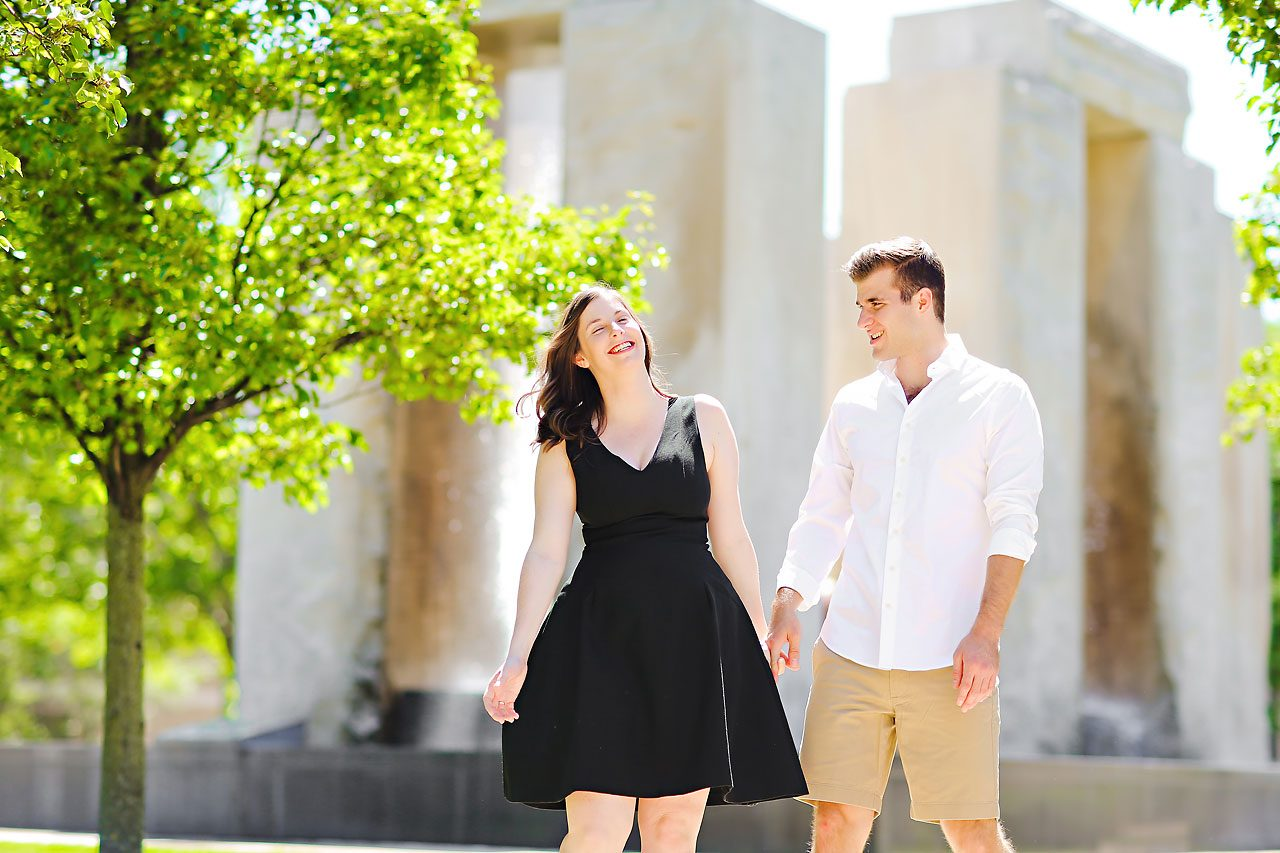 Jessie Chris Notre Dame Engagement Session 029