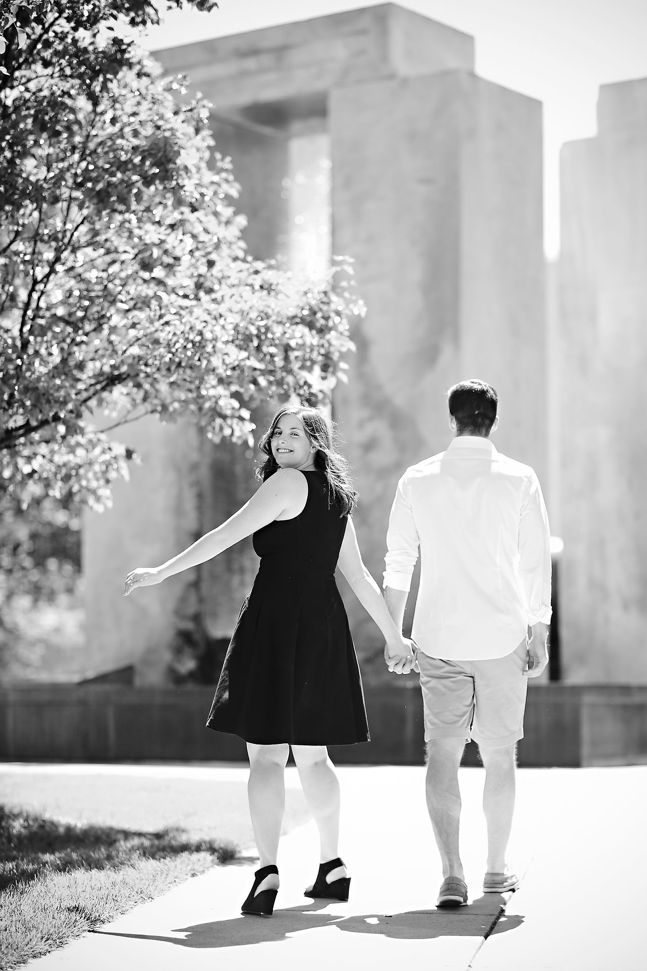 Jessie Chris Notre Dame Engagement Session 032