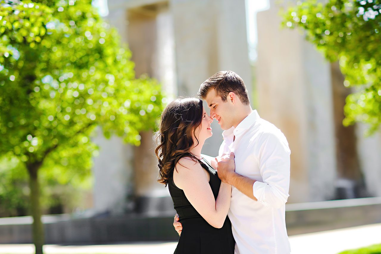 Jessie Chris Notre Dame Engagement Session 037