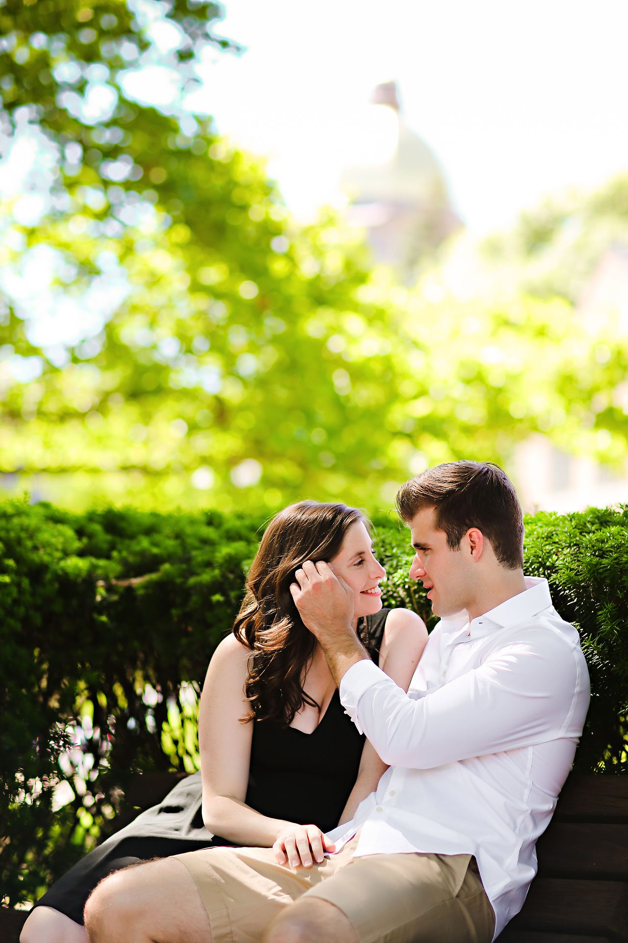 Jessie Chris Notre Dame Engagement Session 045