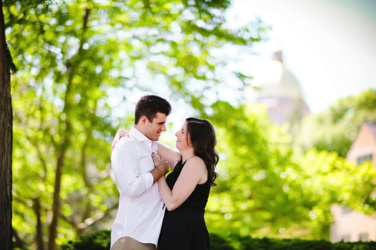 Jessie Chris Notre Dame Engagement Session 050