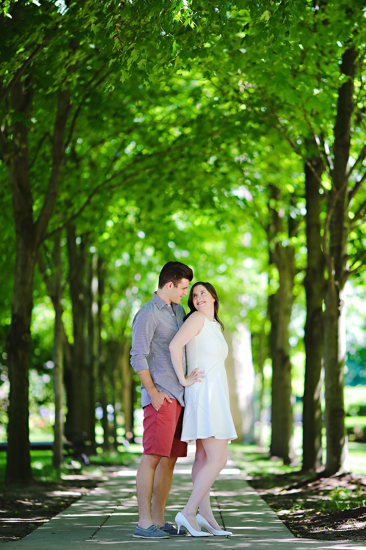 Jessie Chris Notre Dame Engagement Session 053