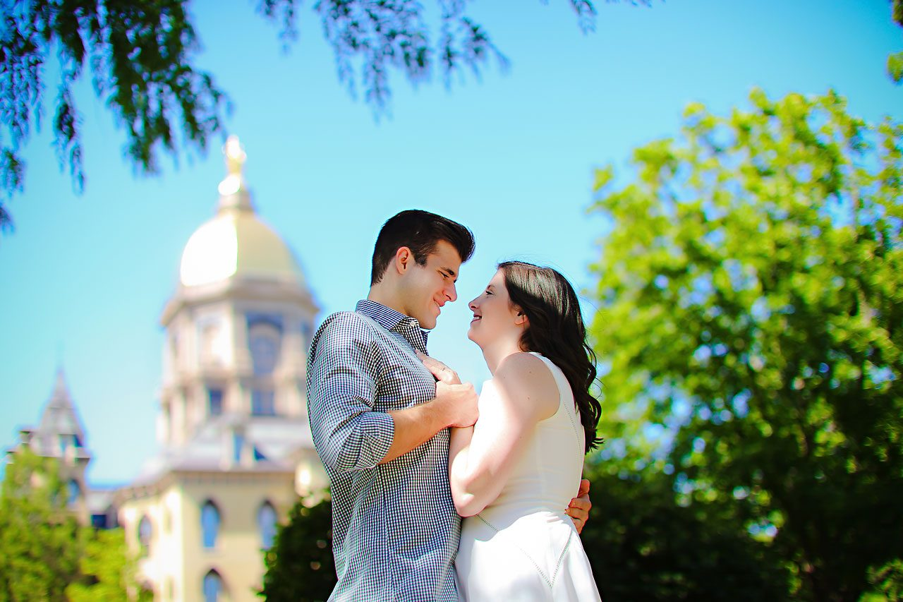 Jessie Chris Notre Dame Engagement Session 073