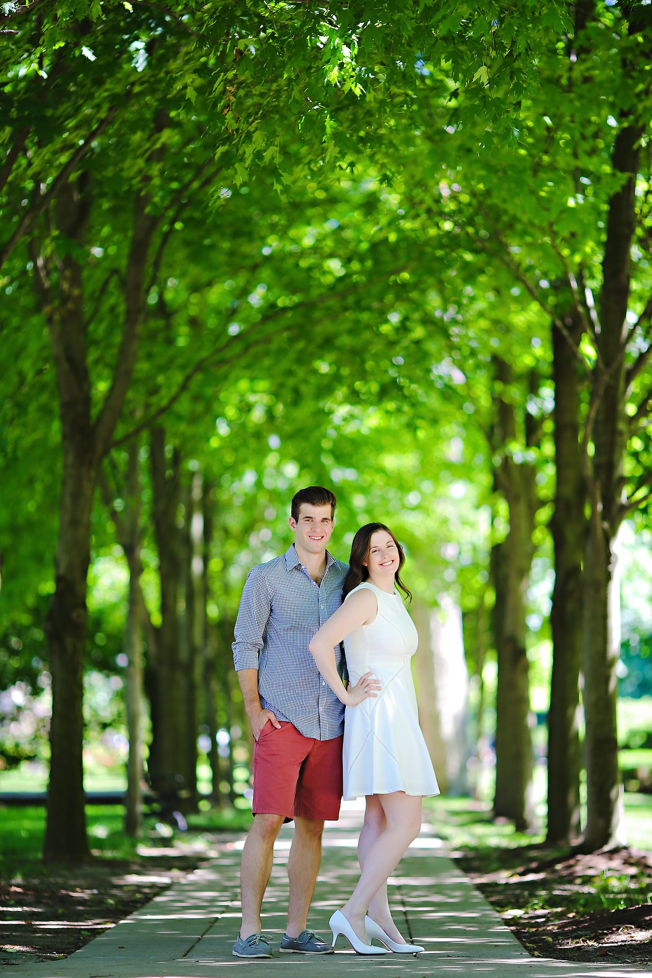 Jessie Chris Notre Dame Engagement Session 076