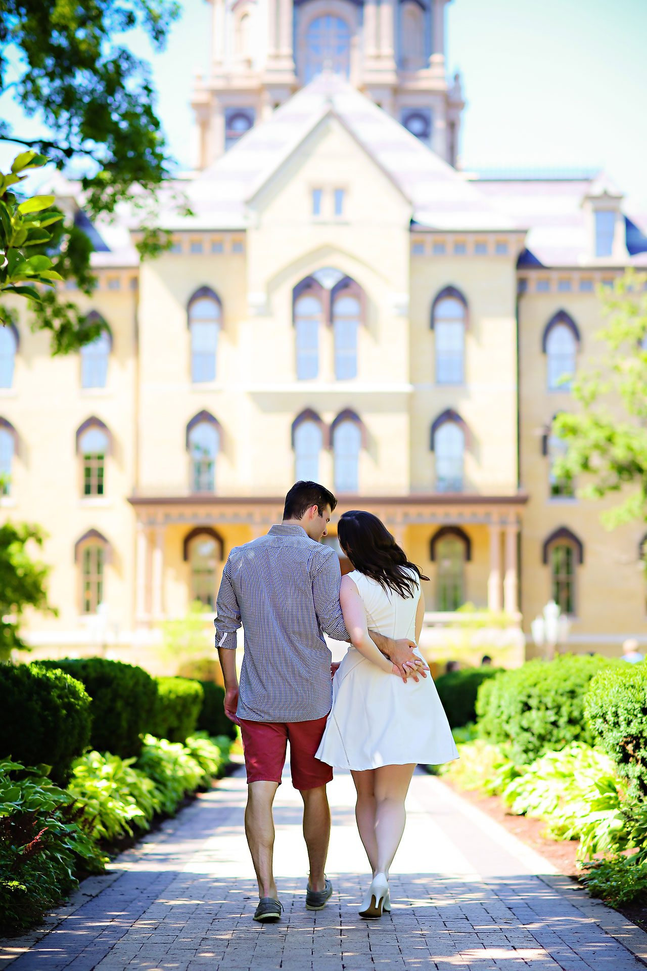 Jessie Chris Notre Dame Engagement Session 082