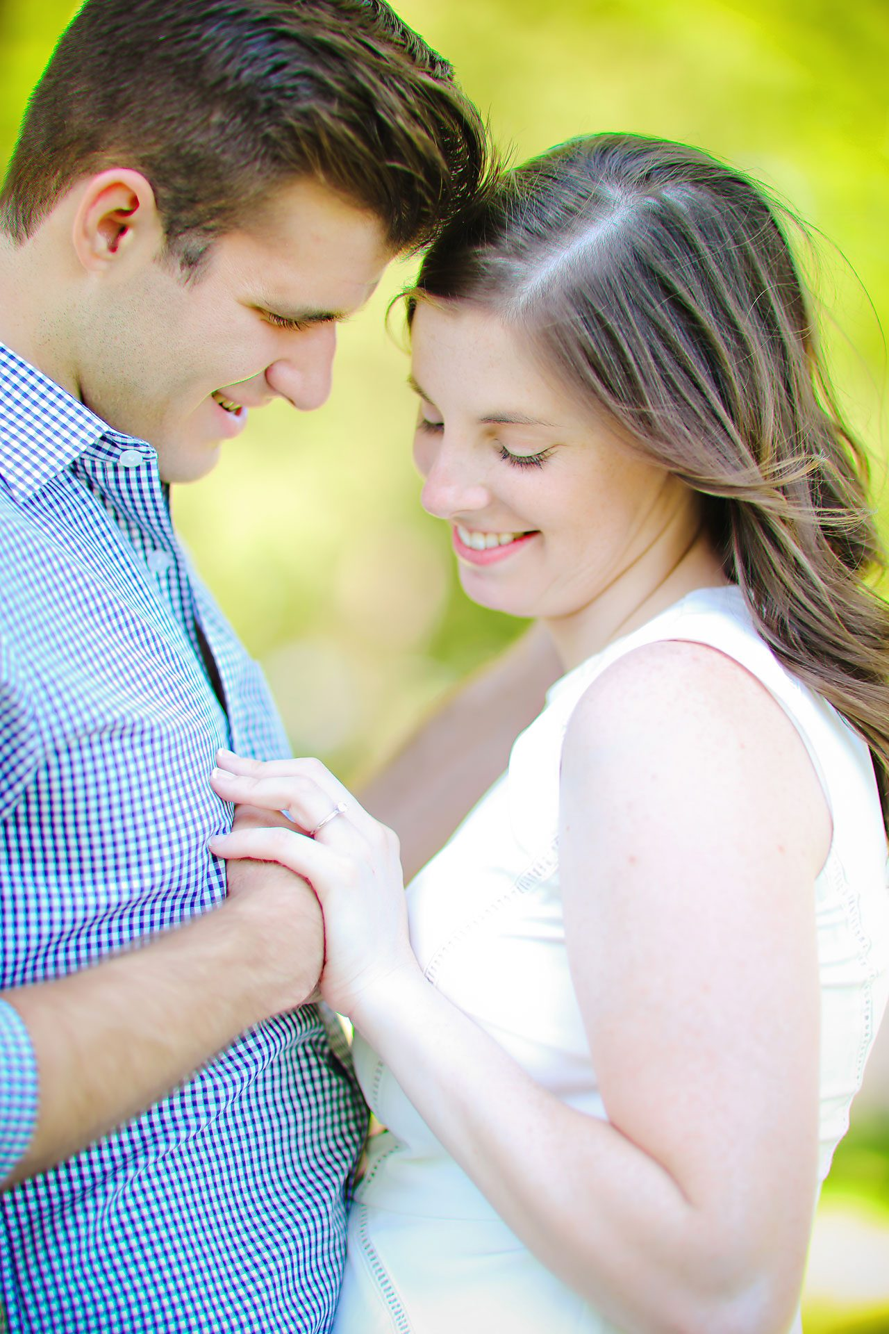 Jessie Chris Notre Dame Engagement Session 083
