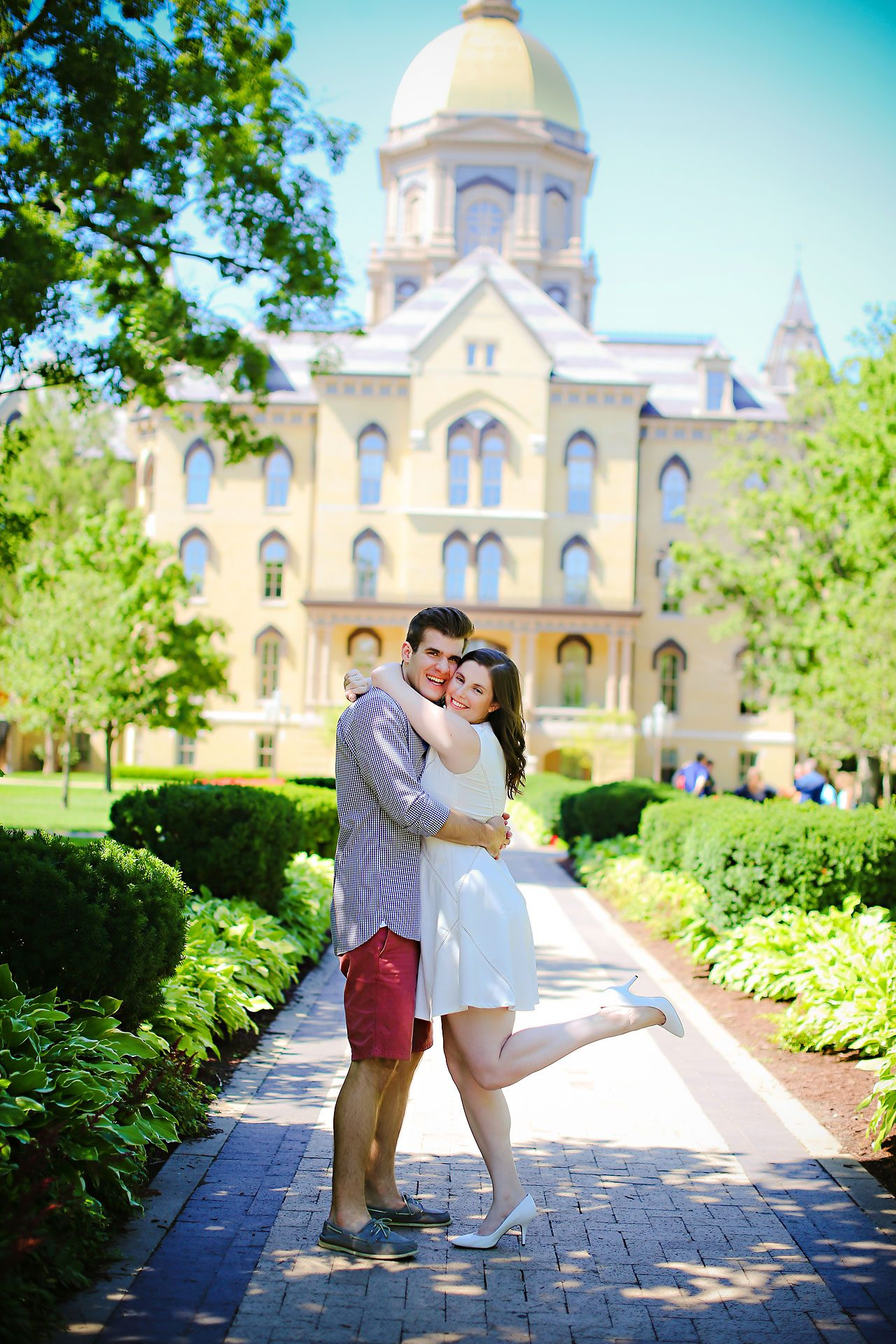 Jessie Chris Notre Dame Engagement Session 089
