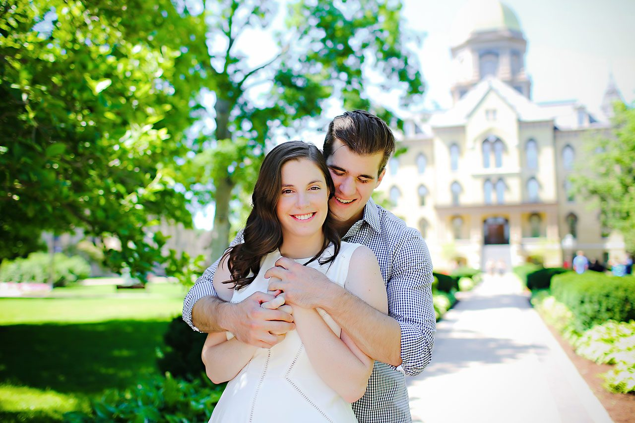 Jessie Chris Notre Dame Engagement Session 097