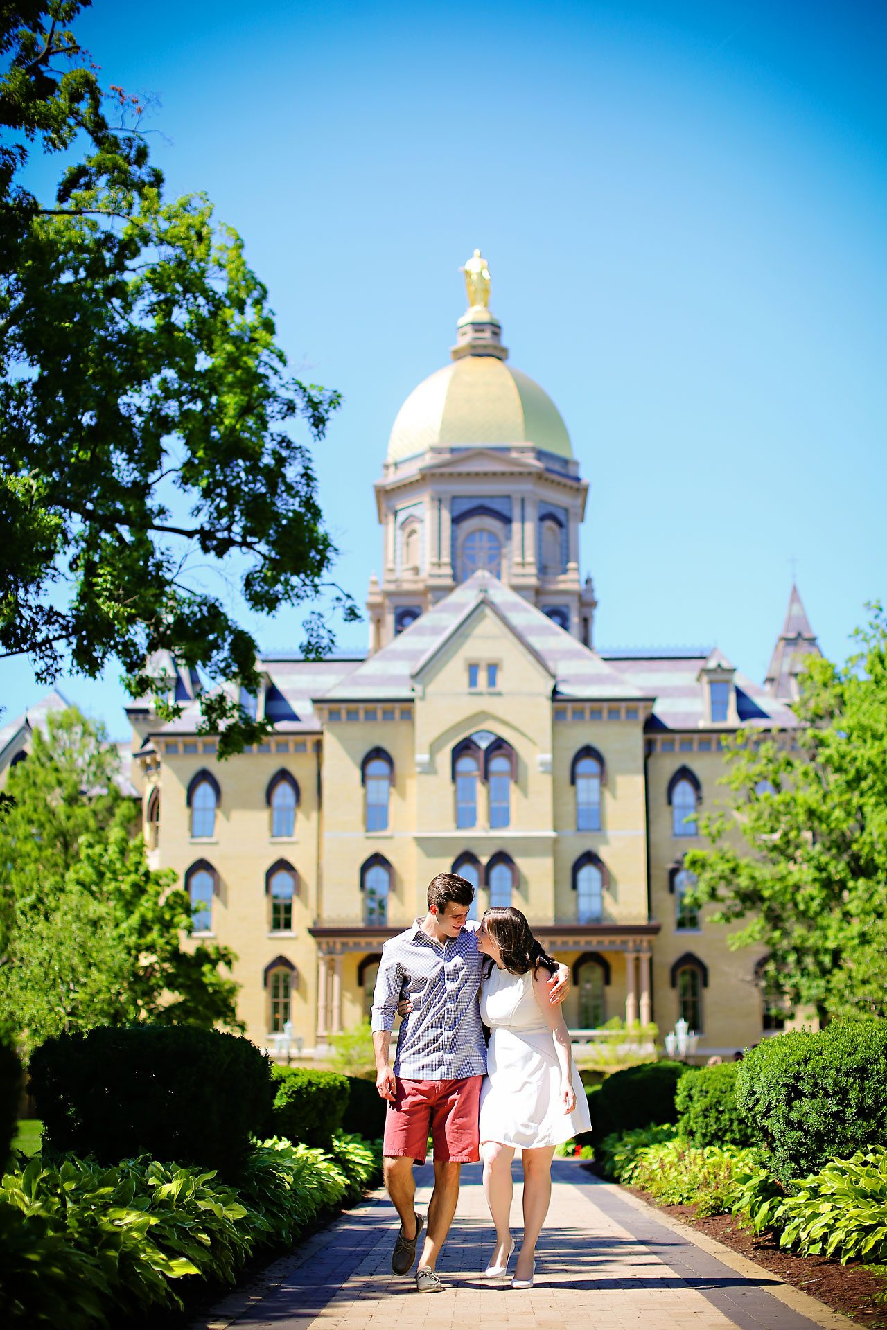 Jessie Chris Notre Dame Engagement Session 109
