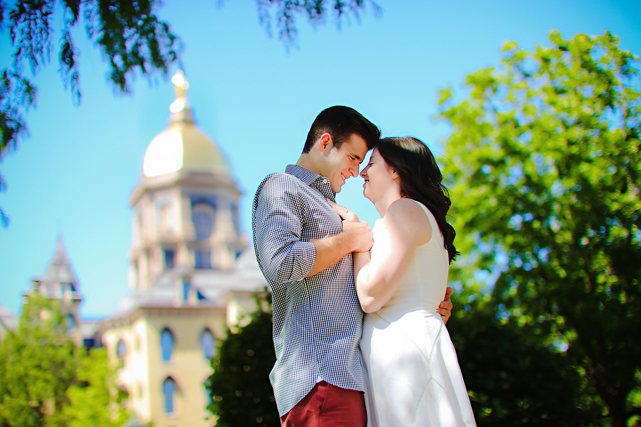 Jessie Chris Notre Dame Engagement Session 110