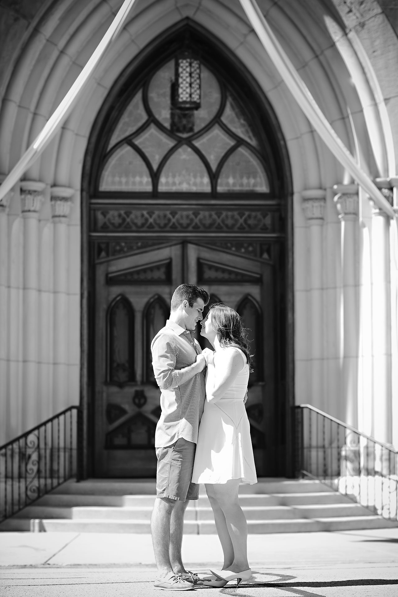 Jessie Chris Notre Dame Engagement Session 115