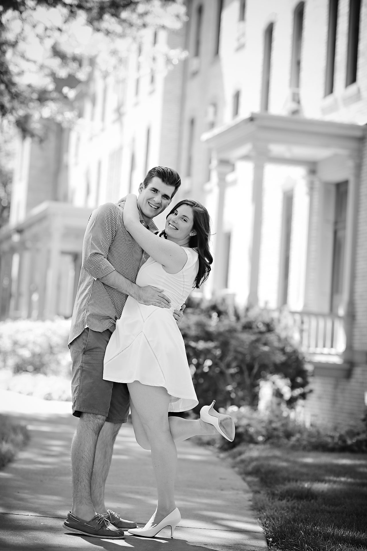 Jessie Chris Notre Dame Engagement Session 120