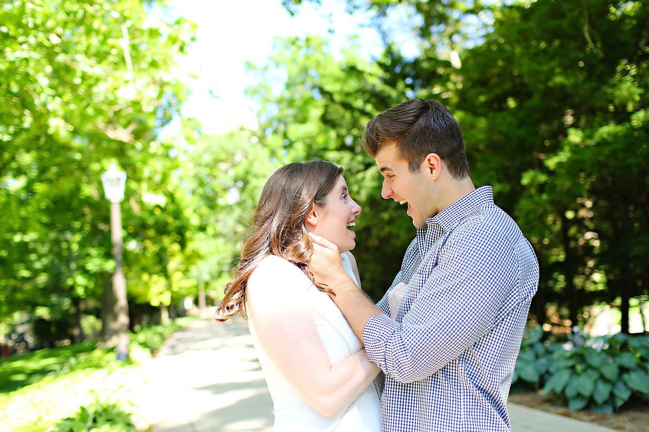 Jessie Chris Notre Dame Engagement Session 139