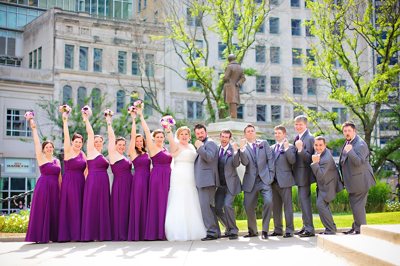 Kellie Greg Conrad Indianapolis Wedding