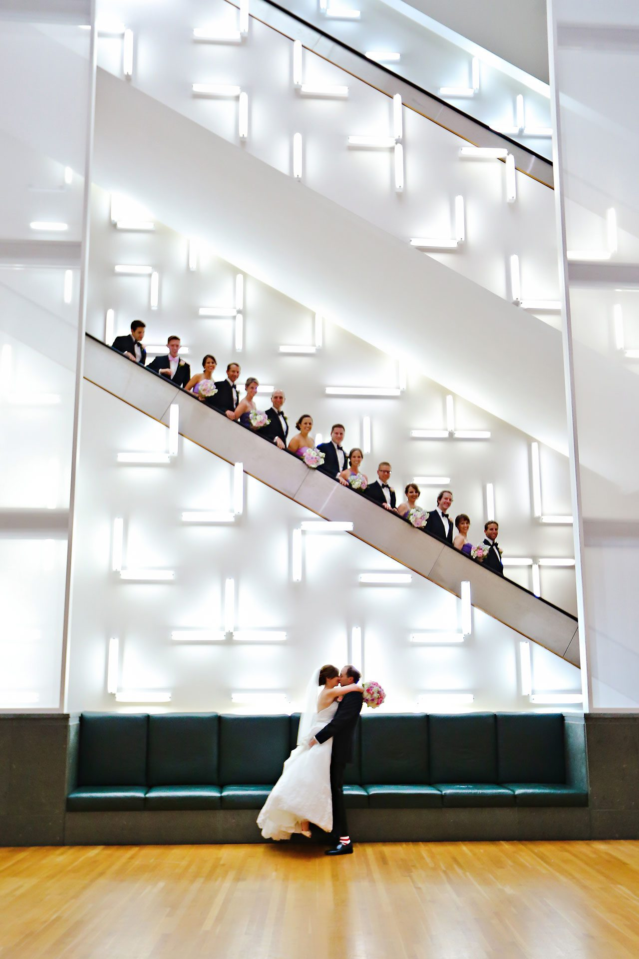 Jackie Charlie Indianapolis Museum of Art Wedding 133