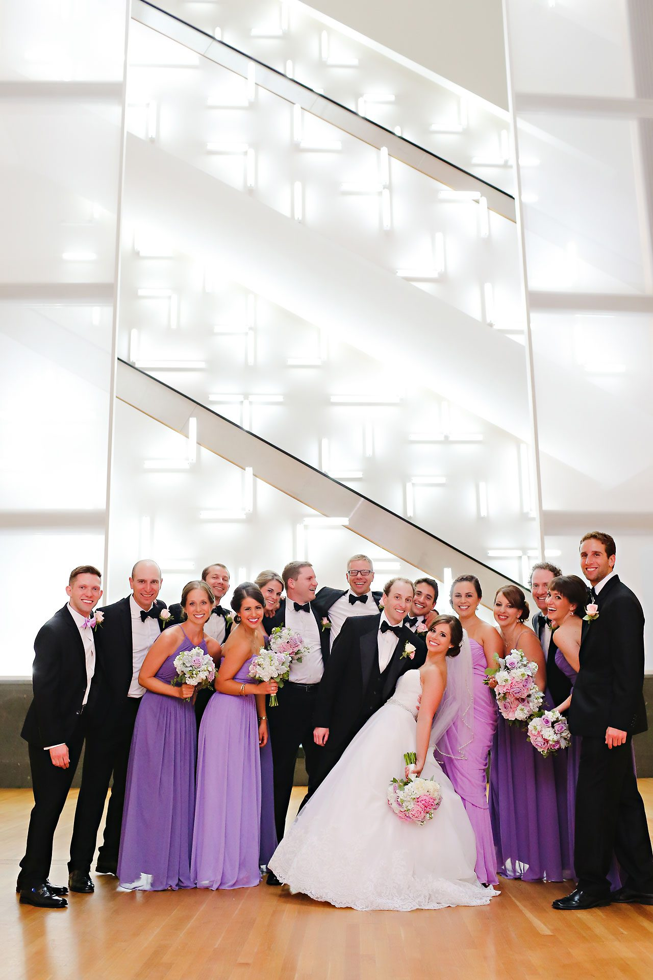 Jackie Charlie Indianapolis Museum of Art Wedding 141