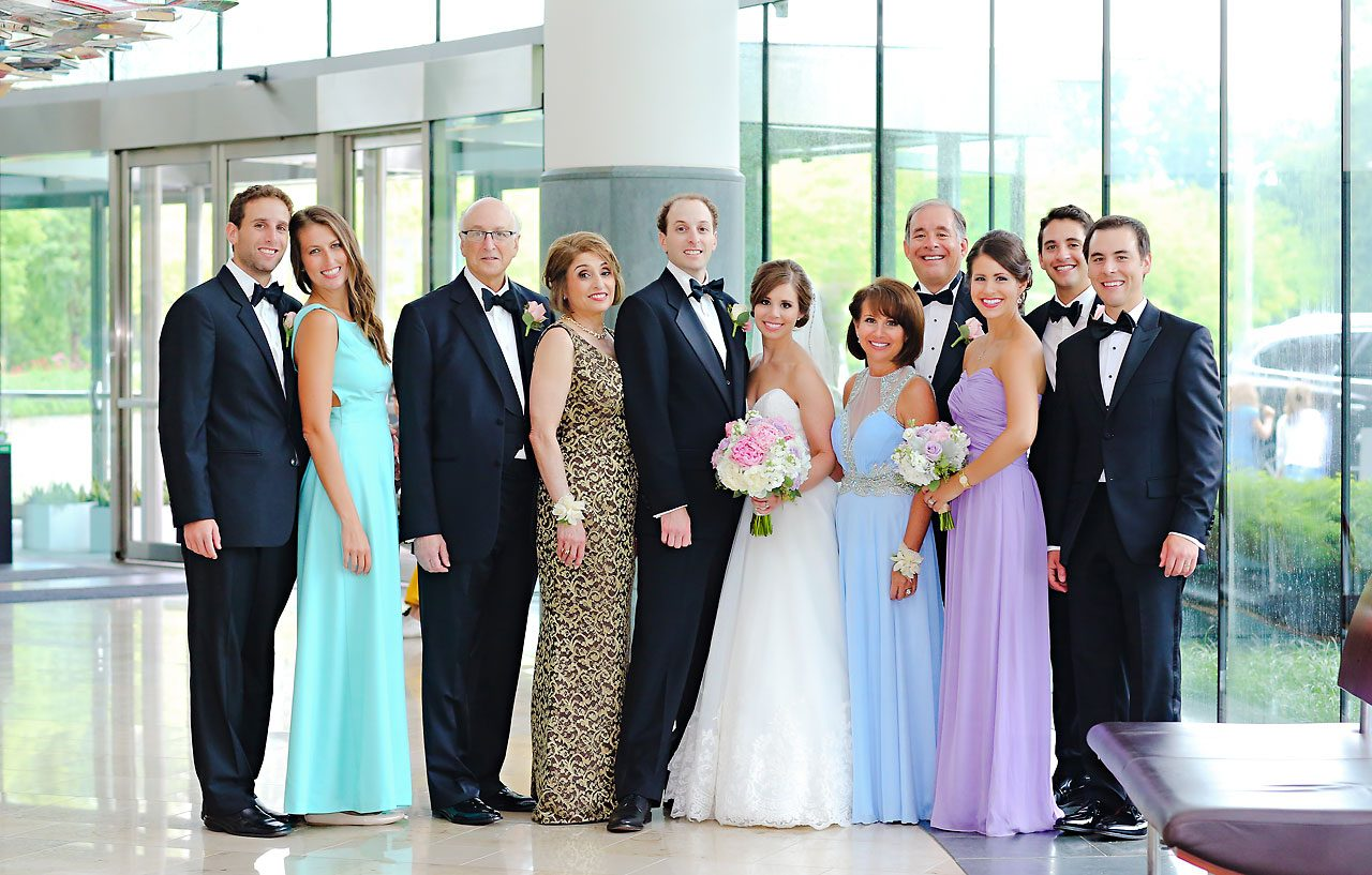 Jackie Charlie Indianapolis Museum of Art Wedding 151