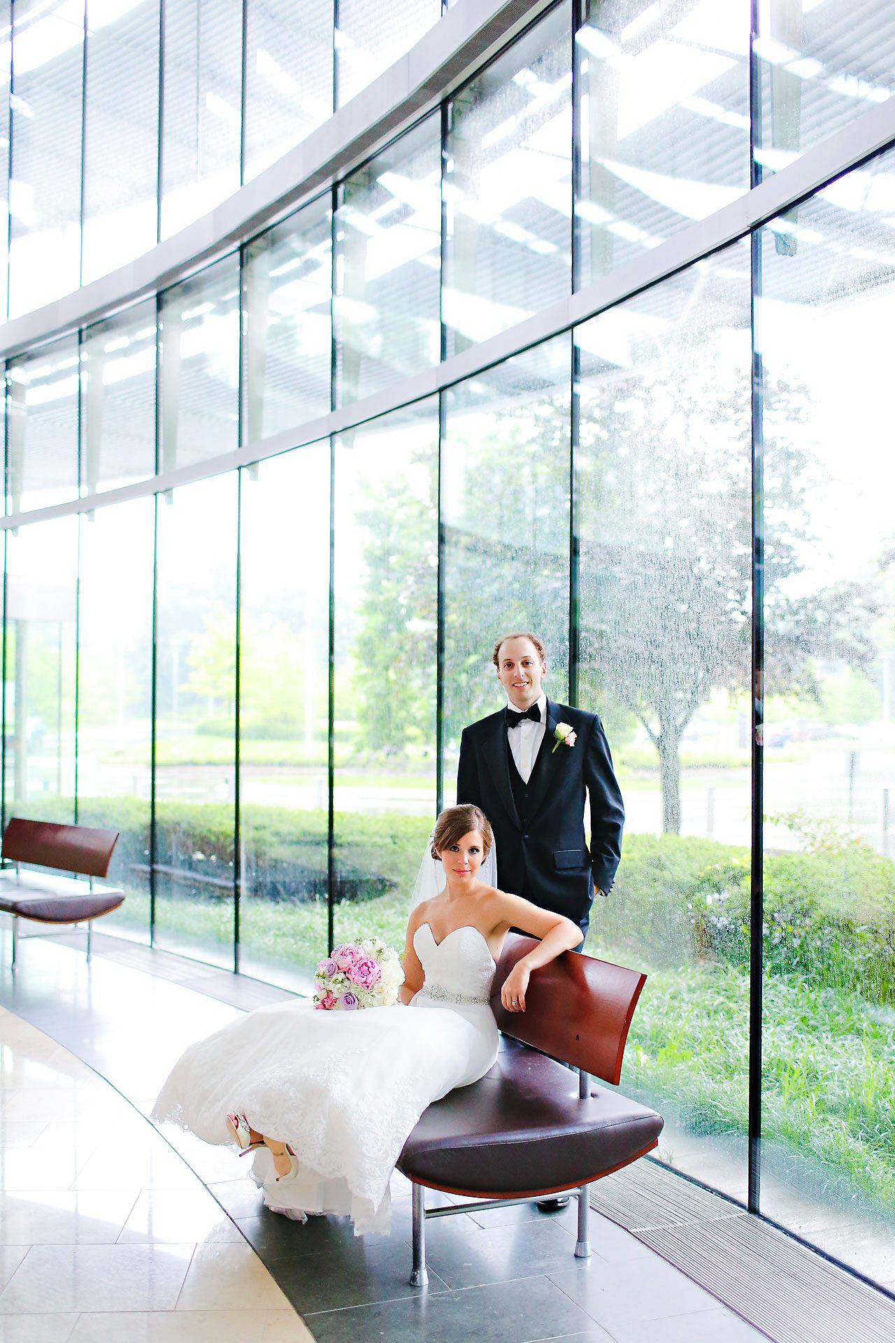 Jackie Charlie Indianapolis Museum of Art Wedding 163