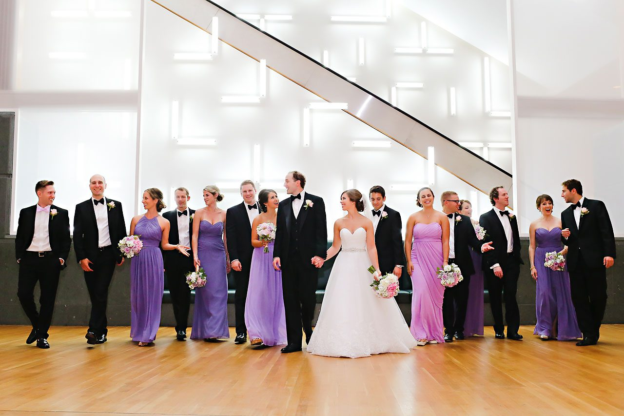 Jackie Charlie Indianapolis Museum of Art Wedding 178