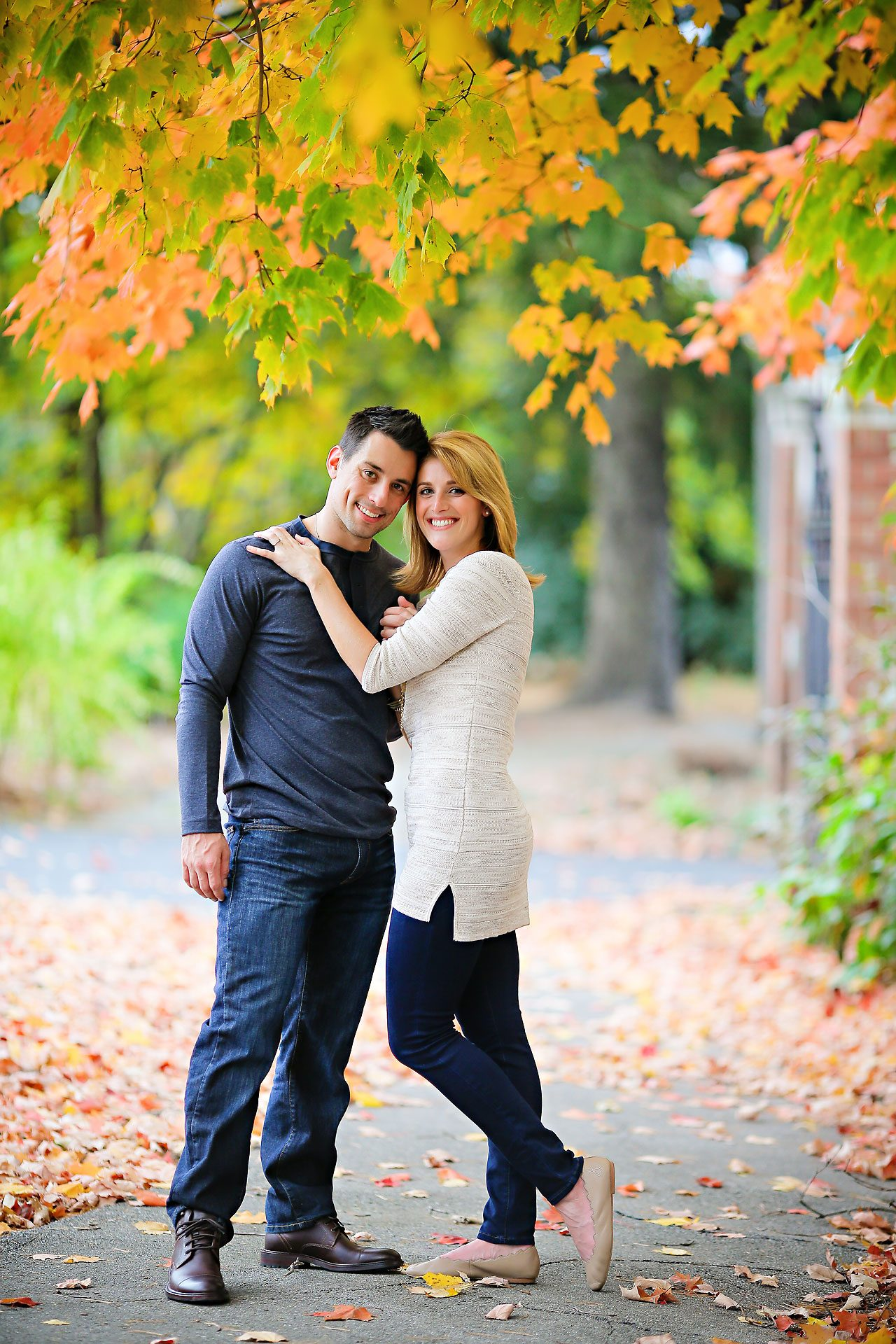kayci matt indianapolis zionsville engagement session 101