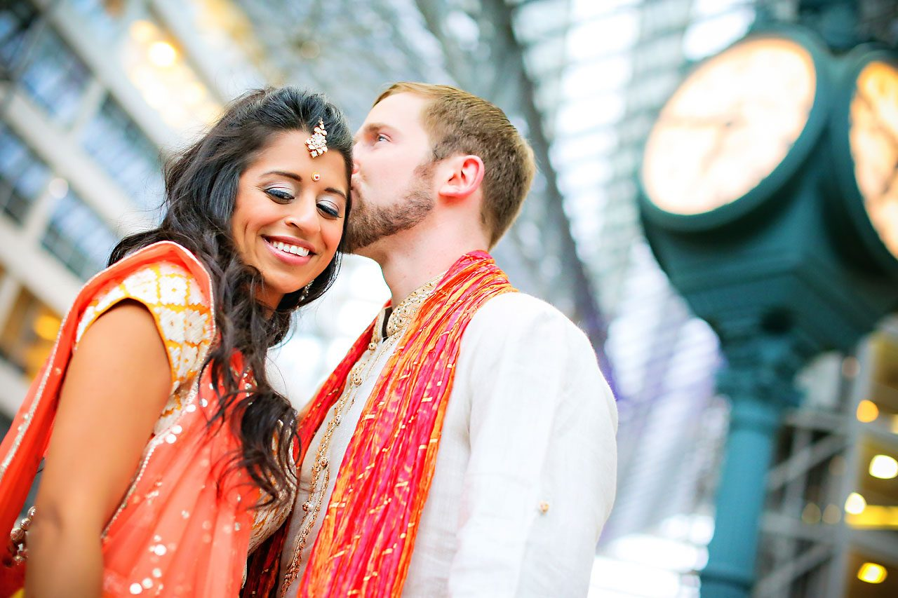 Nina Ryan Indian Wedding Sangeet