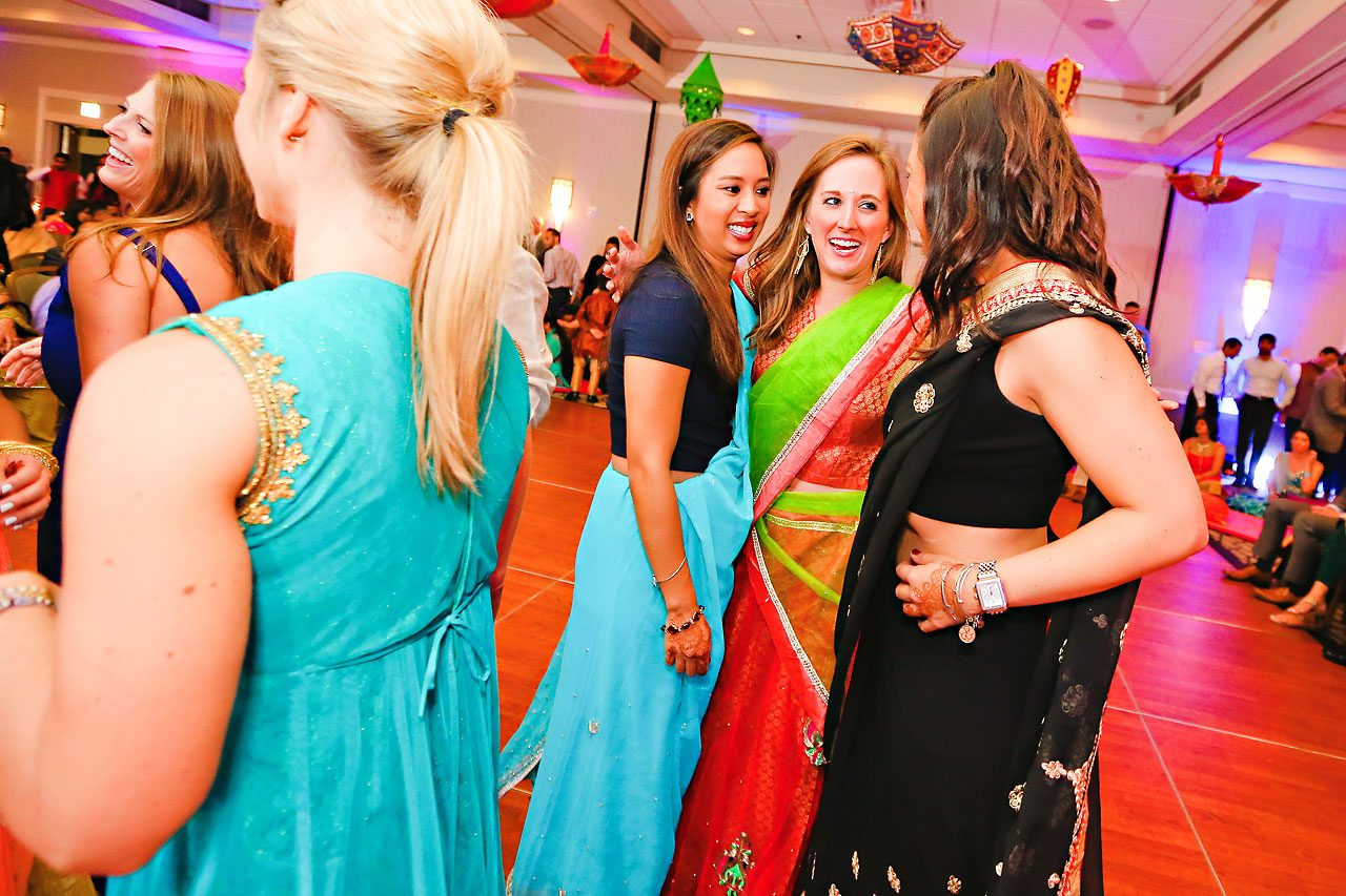 nina ryan indian wedding sangeet 189