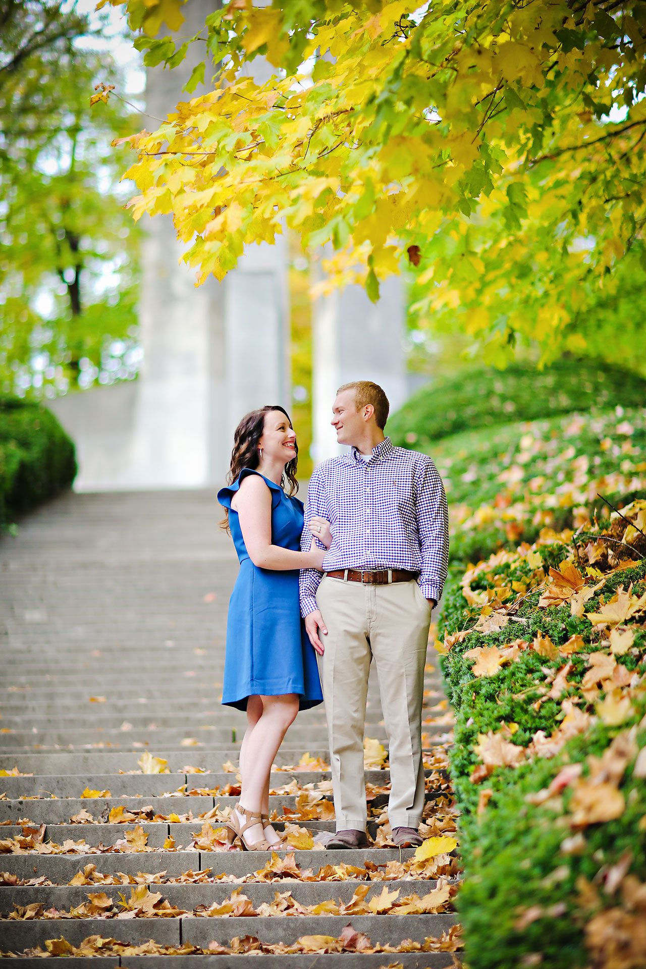 stephanie zach butler university engagement session 019