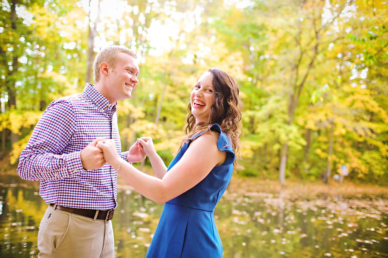 stephanie zach butler university engagement session 024
