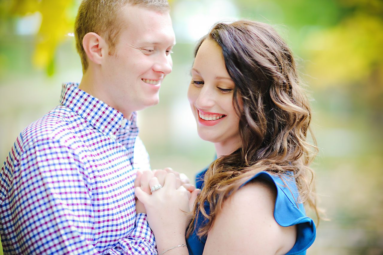 stephanie zach butler university engagement session 026