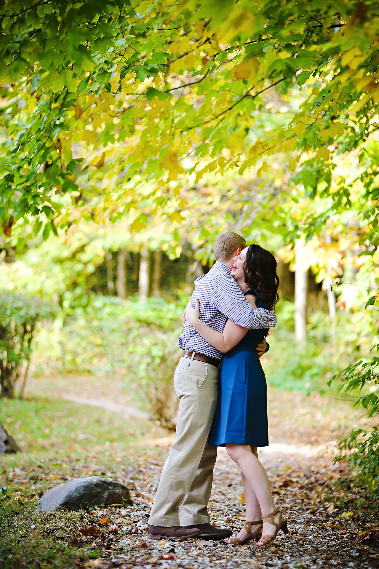 stephanie zach butler university engagement session 030