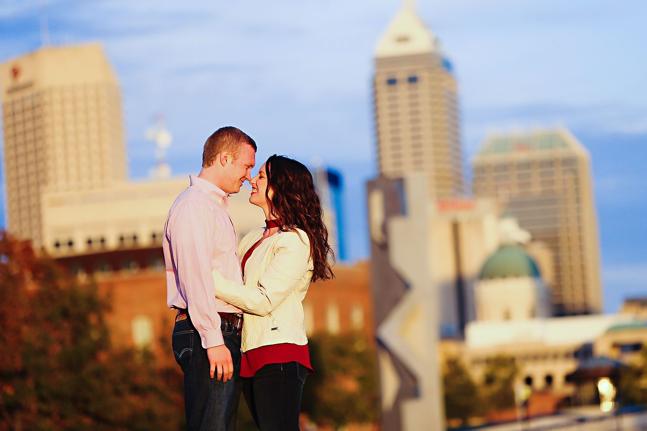stephanie zach butler university engagement session 090