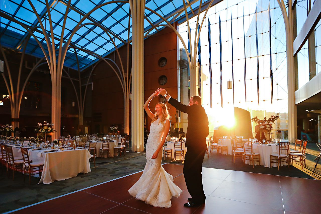 Abby Nick Indianapolis Central Library Wedding