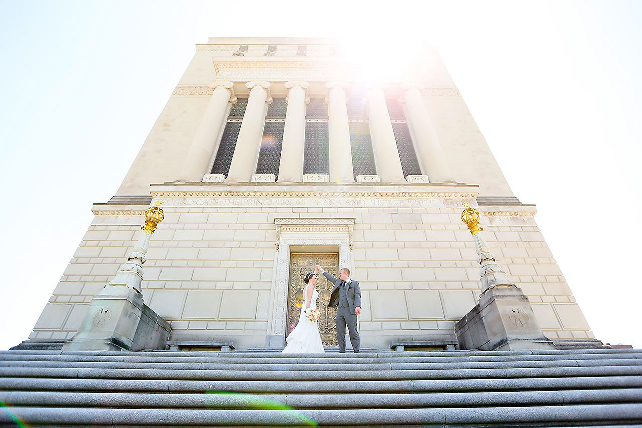 Stephanie Zach Crowne Plaza Union Station Wedding