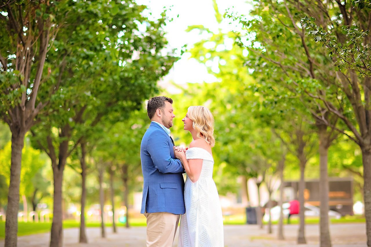 Chelsea Tom Downtown Indianapolis Engagement Session 021