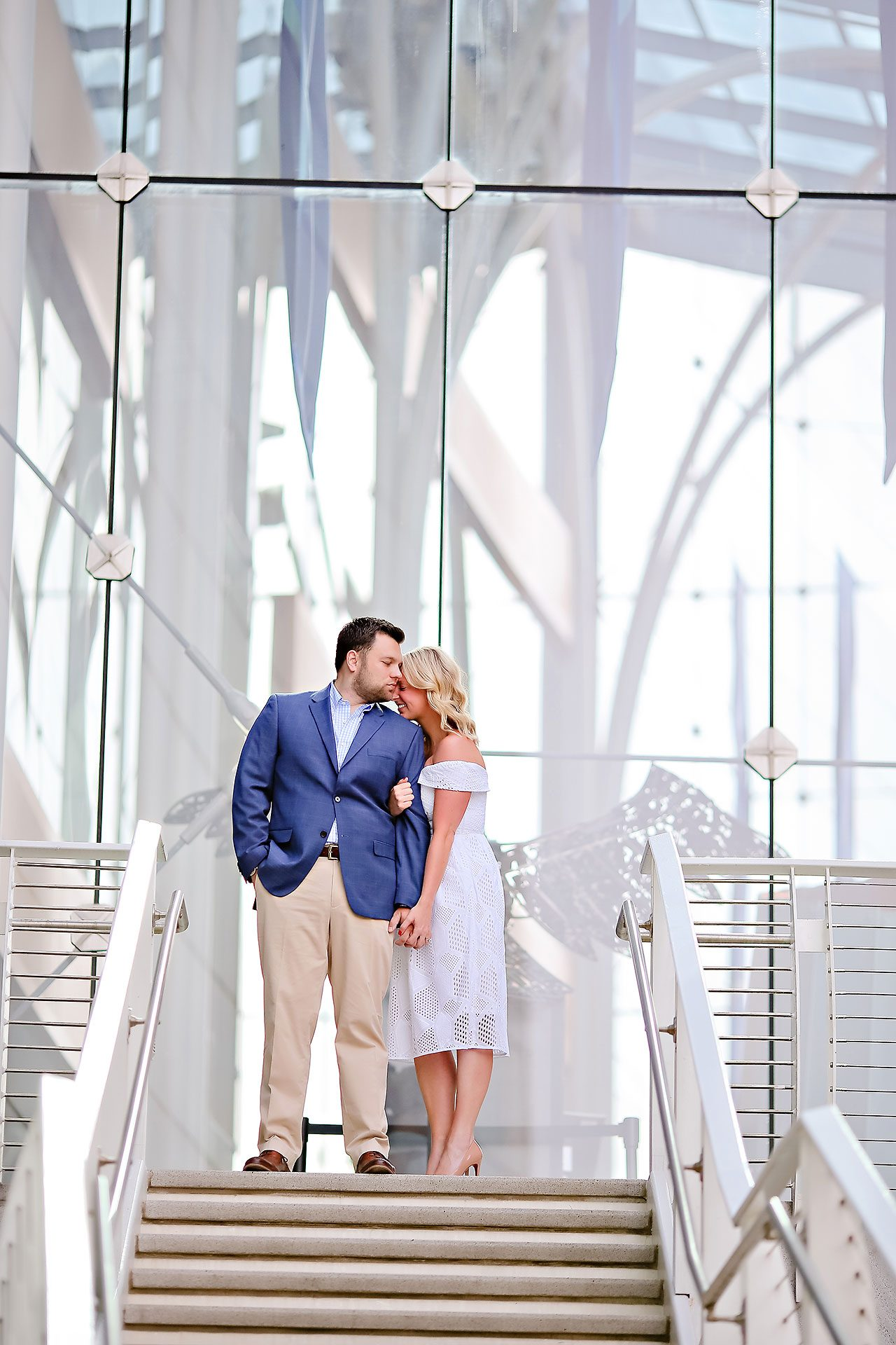 Chelsea Tom Downtown Indianapolis Engagement Session 024