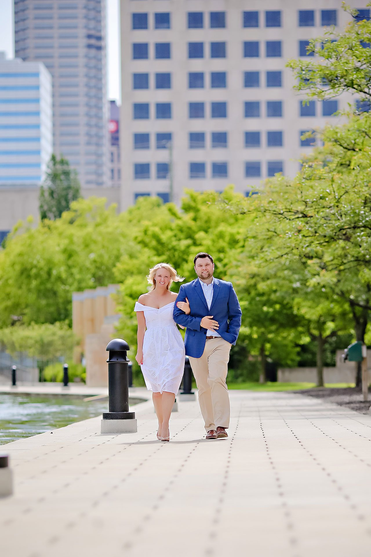 Chelsea Tom Downtown Indianapolis Engagement Session 030