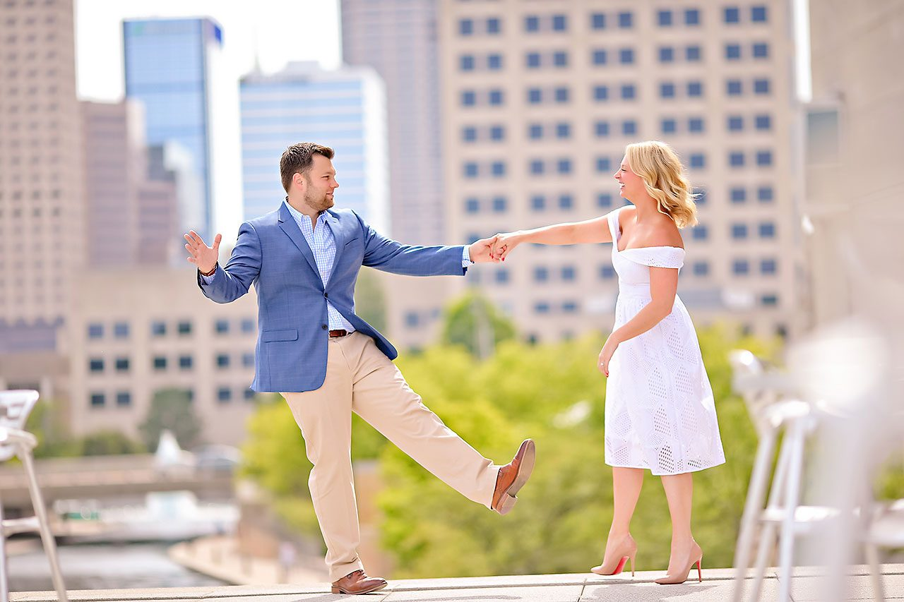 Chelsea Tom Downtown Indianapolis Engagement Session 038