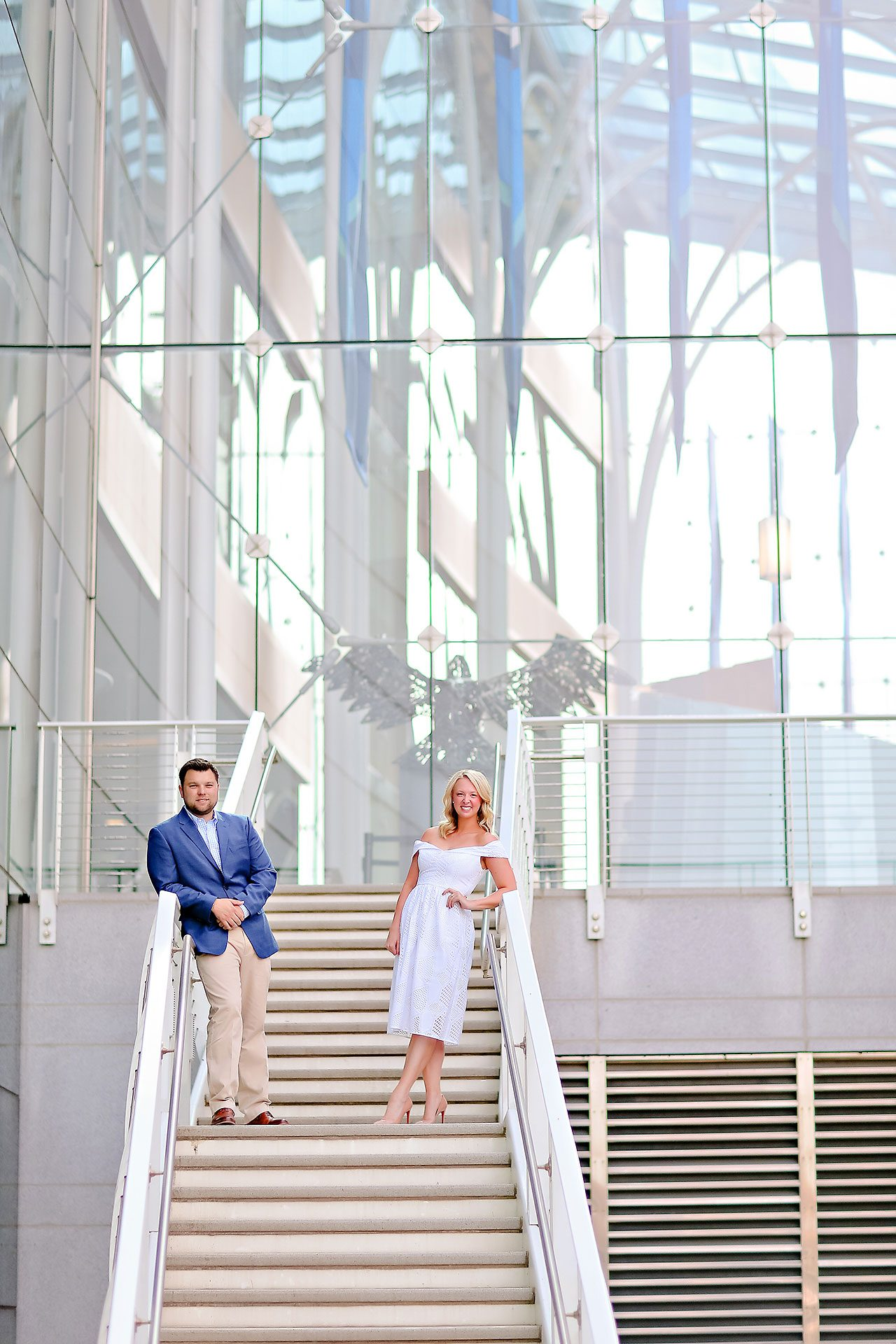 Chelsea Tom Downtown Indianapolis Engagement Session 040