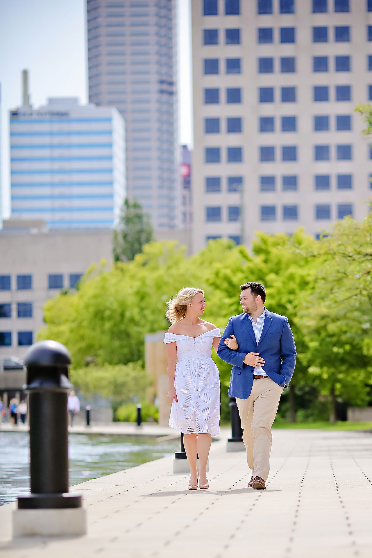 Chelsea Tom Downtown Indianapolis Engagement Session 054