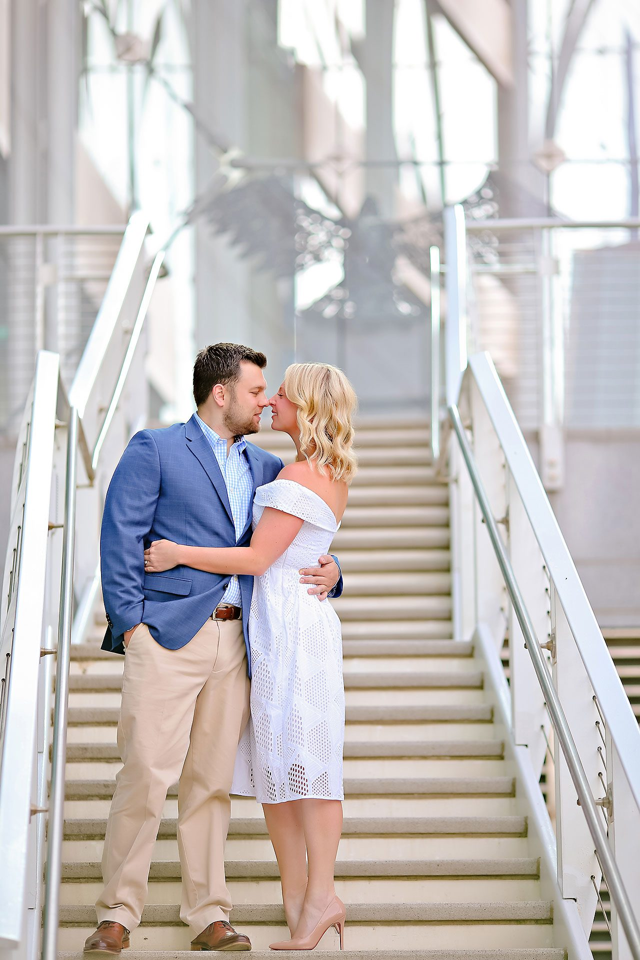 Chelsea Tom Downtown Indianapolis Engagement Session 057