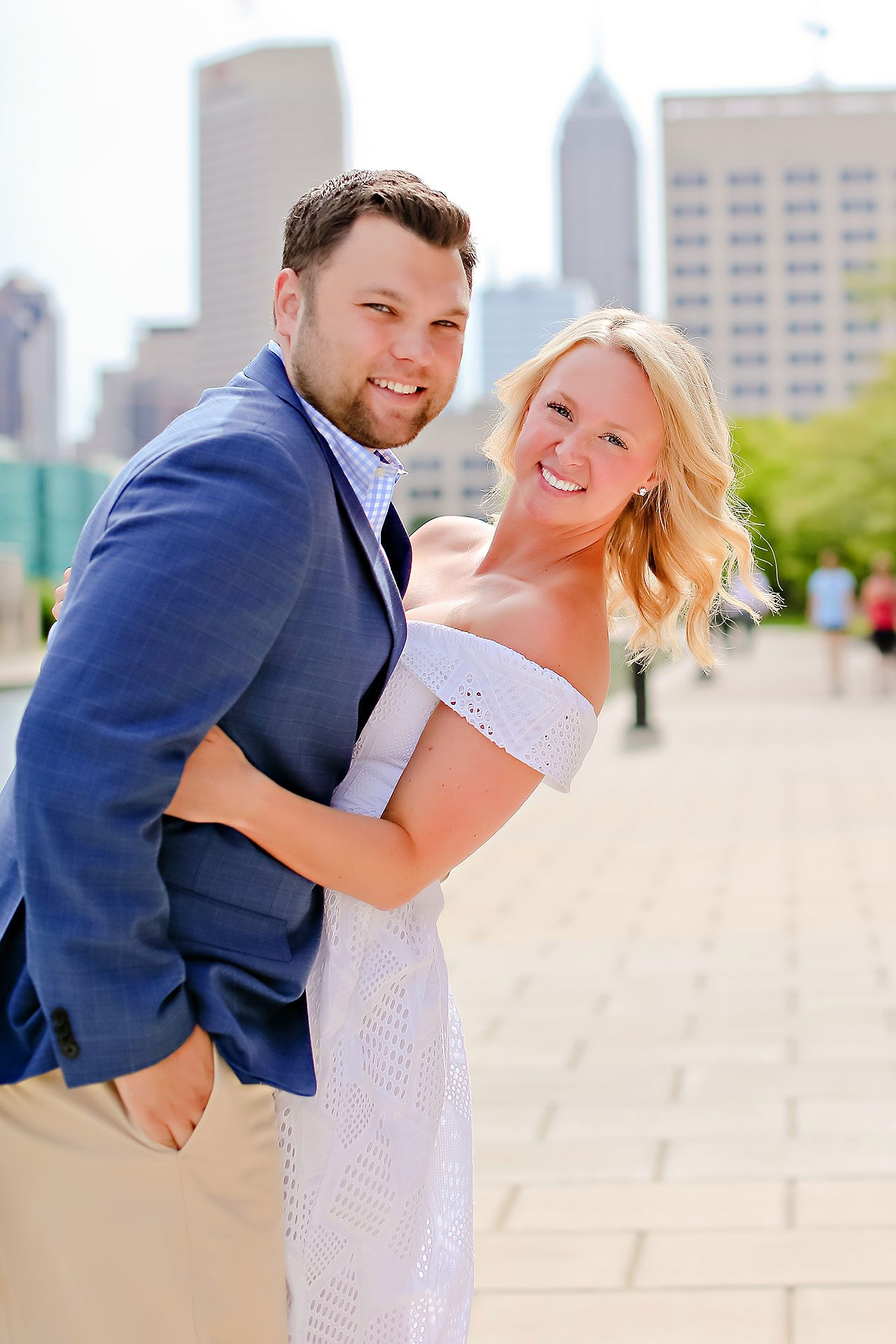 Chelsea Tom Downtown Indianapolis Engagement Session 060