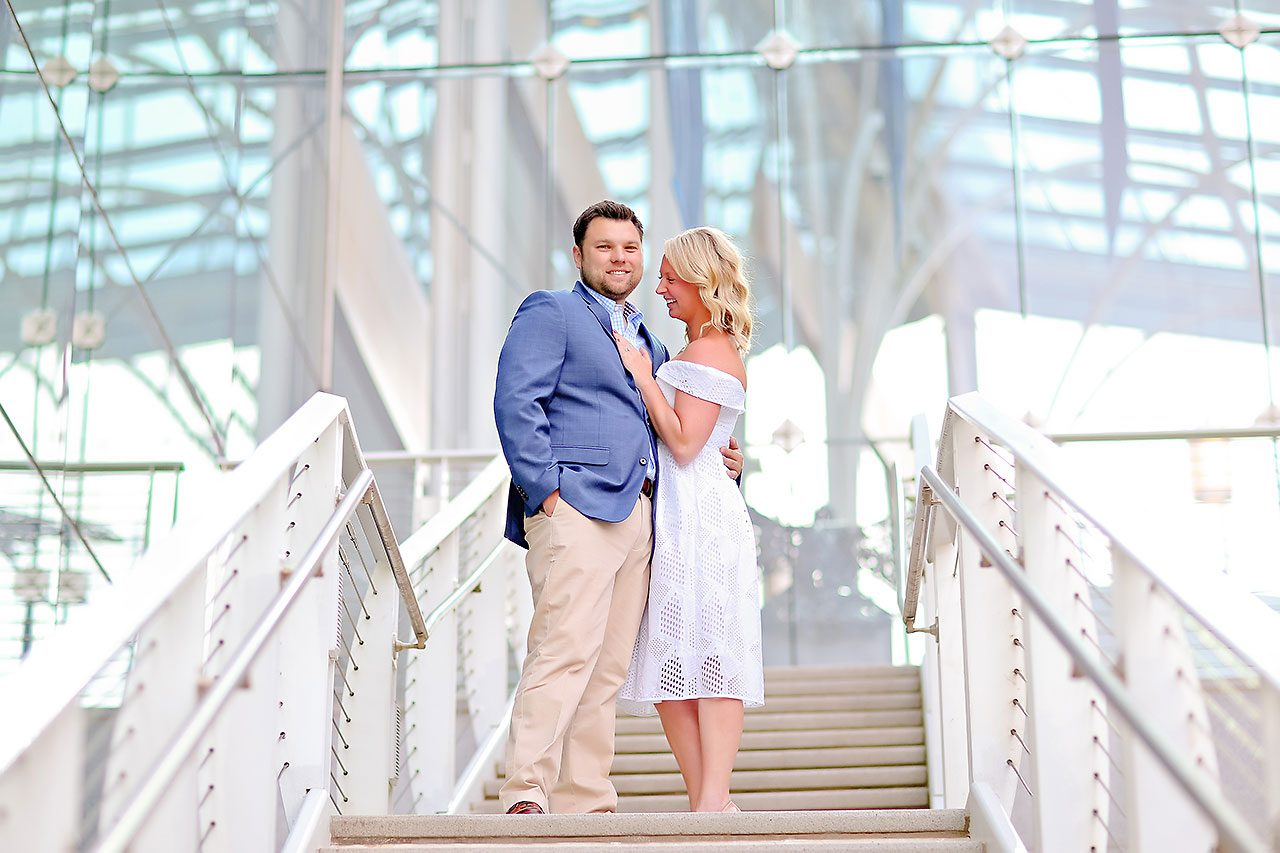 Chelsea Tom Downtown Indianapolis Engagement Session 065